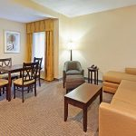 Holiday Inn Express Blowing Rock South executive suite seating