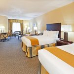Holiday Inn Express Blowing Rock South room with two queen beds
