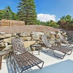 Holiday Inn Express Blowing Rock South guest patio