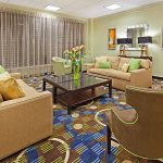 Holiday Inn Express Blowing Rock South lobby